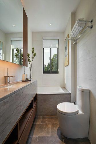 130平米三室两厅新古典风格卫生间图片大全