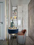 110平米三室一厅美式风格梳妆台装修图片大全