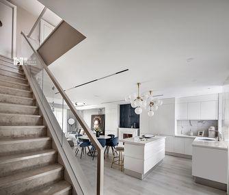 140平米三室两厅法式风格楼梯间装修案例