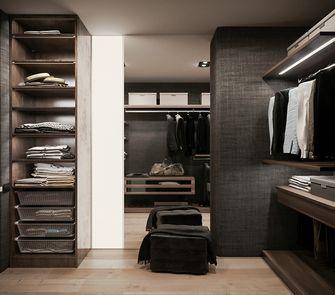 60平米三室一厅现代简约风格衣帽间设计图