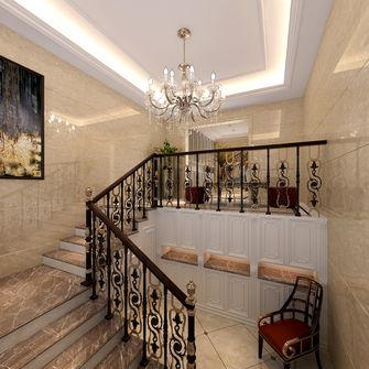 140平米复式欧式风格楼梯间装修案例