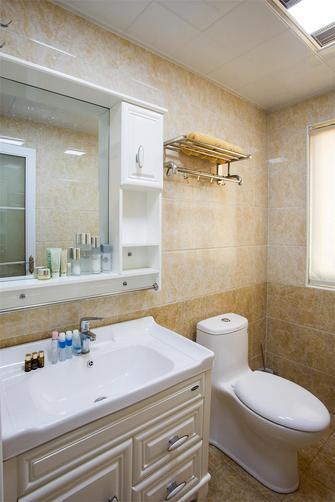经济型80平米一室两厅欧式风格卫生间效果图