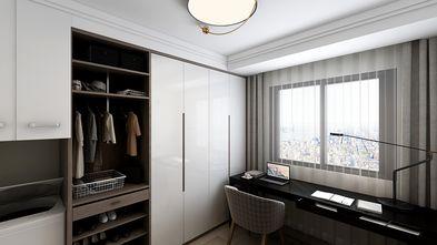 80平米三室一厅北欧风格书房设计图