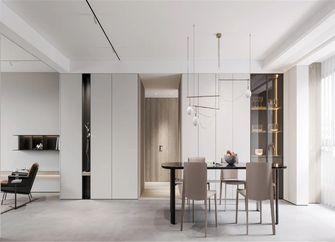 经济型120平米三室三厅北欧风格餐厅图片