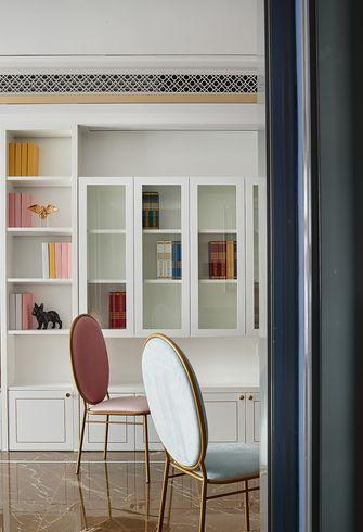 90平米三室两厅法式风格书房设计图