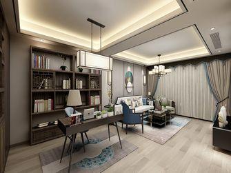 140平米三室两厅中式风格书房装修案例