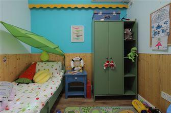 90平米三室两厅田园风格儿童房装修图片大全