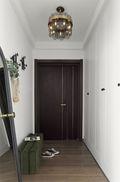 110平米三室两厅英伦风格玄关图片大全