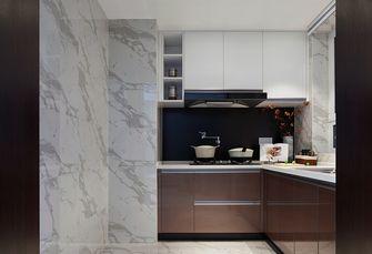110平米三室一厅混搭风格厨房图片