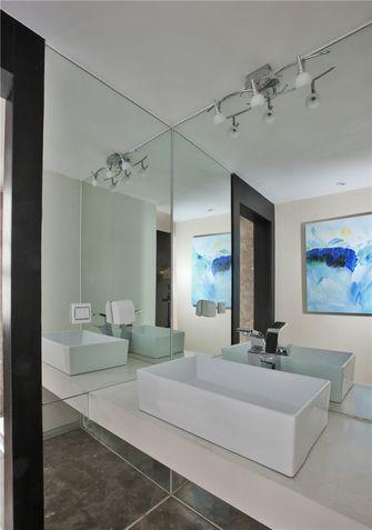 90平米现代简约风格卫生间浴室柜装修案例