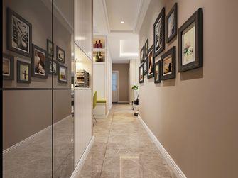 富裕型140平米三室一厅英伦风格走廊图片大全