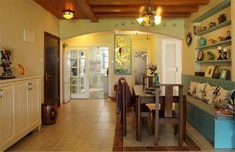 经济型120平米一室两厅田园风格餐厅图
