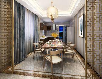 120平米三室一厅中式风格餐厅图