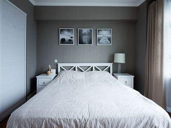 90平米三室一厅混搭风格卧室设计图