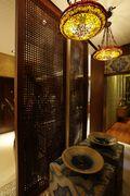 富裕型90平米三室两厅东南亚风格玄关图片