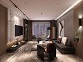 90平米三室两厅宜家风格客厅装修案例