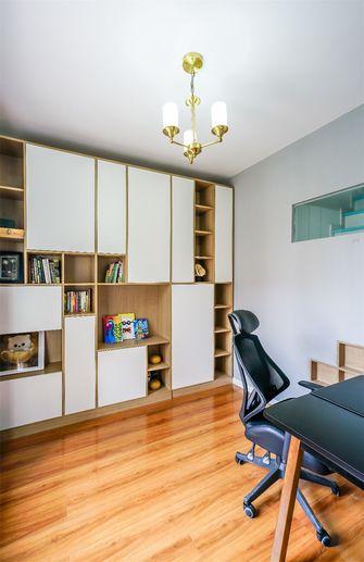 90平米三室一厅地中海风格书房设计图