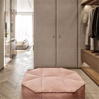 50平米公寓现代简约风格衣帽间图片