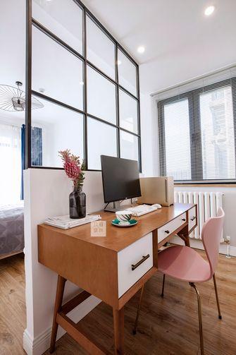 5-10万80平米公寓北欧风格书房装修图片大全