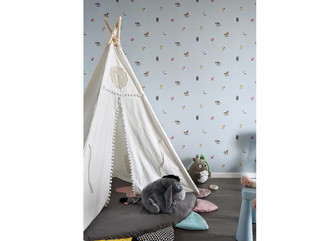 140平米四室三厅中式风格儿童房设计图