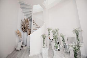 经济型140平米现代简约风格楼梯间图