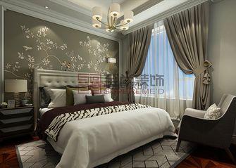 140平米三室两厅欧式风格卧室吊顶图片大全