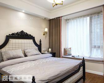 140平米三室两厅美式风格卧室图片