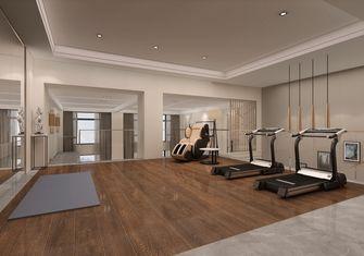 140平米复式现代简约风格健身室图片大全