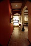 100平米东南亚风格走廊设计图