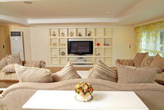 经济型140平米三室三厅田园风格客厅设计图