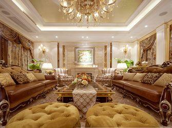 130平米三室一厅欧式风格客厅图片大全