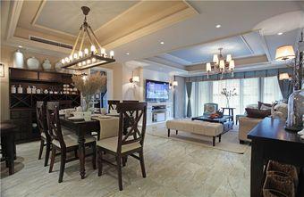 140平米四室五厅美式风格餐厅装修效果图