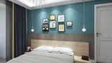 50平米一居室北欧风格卧室装修案例