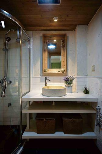 60平米一居室混搭风格卫生间欣赏图