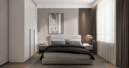 130平米四室两厅现代简约风格卧室图片大全