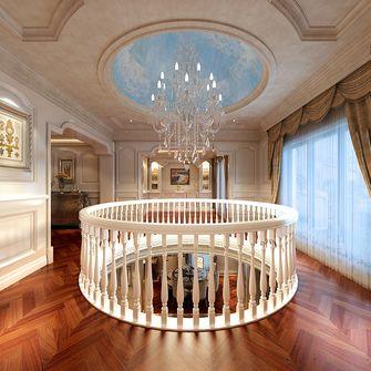 20万以上140平米别墅欧式风格楼梯装修效果图