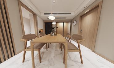 90平米田园风格餐厅装修效果图