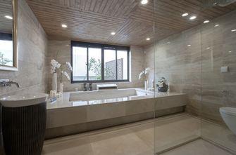 140平米别墅混搭风格卫生间图片