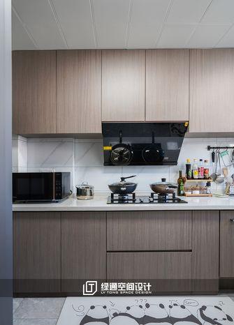140平米三现代简约风格厨房图