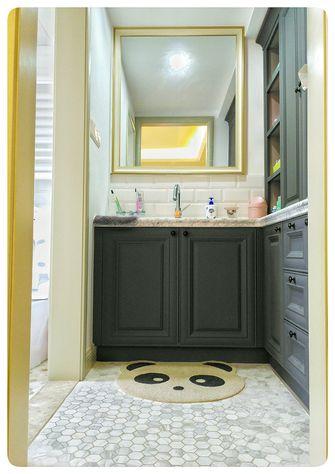 140平米三室一厅东南亚风格卫生间装修案例