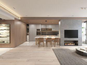 120平米三室一厅日式风格餐厅设计图