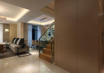 富裕型120平米复式现代简约风格楼梯装修效果图