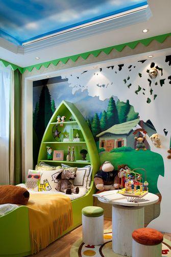 130平米三美式风格卧室效果图
