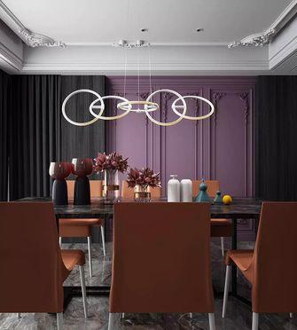 140平米四现代简约风格餐厅装修图片大全