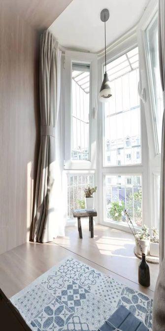 70平米一室一厅日式风格阳台欣赏图