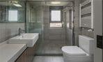 120平米三室两厅北欧风格卫生间浴室柜装修效果图