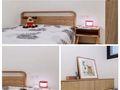 100平米三室一厅宜家风格卧室设计图