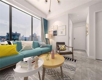 90平米三室两厅北欧风格客厅图片