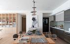 60平米一室一厅北欧风格厨房图
