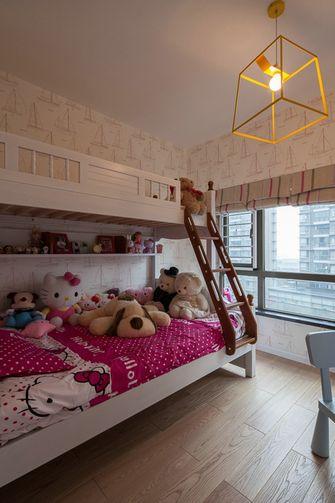 经济型110平米三室两厅英伦风格儿童房图片大全